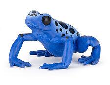 Papo 50175 Equatorial Blue Frog Model Figurine Toy - Nip