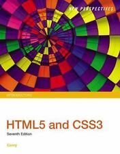 New Perspectives HTML5 and CSS3: Introductory, Carey, Patrick M., Good Book