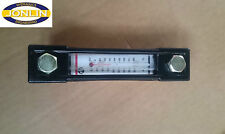 """HYDROLINE LGT2 - 5"""" HYDRAULIC OIL SIGHT LEVEL GAUGE with THERMOMETER (127mm)"""