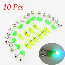 Outdoor Night Fishing Accessory Rod Tip LED Light Fish Bite Double Alarm Bell kY