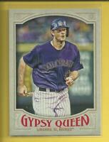 DJ LeMahieu 2016 Topps Gypsy Queen Card # 272 Rockies New York Yankees Baseball