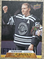 PATRICK KANE 2020-21 UPPER DECK SERIES 1 UD CANVAS INSERT #C17 BLACKHAWKS