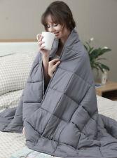 Daverose Weighted Blanket 15lbs 60''*80'' Gravity Blanket Sensory Blanket