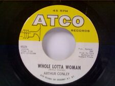 """ARTHUR CONLEY """"WHOLE LOTTA WOMAN / LOVE COMES AND GOES"""" 45"""