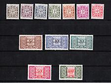 MONACO  timbre taxe   série   de 1946/57   num: 29/32  *