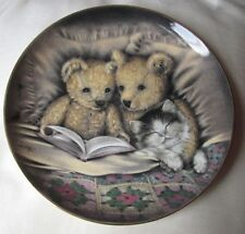 """Franklin Mint Heirloom porcelain collectors plate """" Bedtime Story """""""