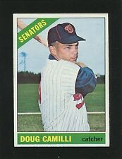 #593 DOUG CAMILLI, Senators SP - 1966 Topps: EM+ to NM, w/Good Gloss 170349