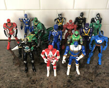 Mixed Vintage Lot Of 16 Bandai Power Rangers