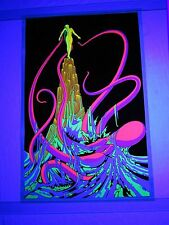 Vintage Psychedelic Blacklight Poster OCTOPUS PP-121 M.O. Russel AA Sales Inc