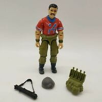 Vintage 1985 GI JOE Bazooka Action Figure HASBRO Original Accessories Gun Pack