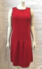 Oscar De La Renta Red Dress 6 US