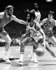 New York Knicks WALT FRAZIER vs Bill Walton Glossy 8x10 Photo NBA Print HOF 87