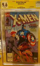 Uncanny X-Men #268  CGC 9.6 SS Claremont (Marvel 9/90) Classic cover