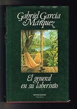 Gabriel García Márquez El General en Su Laberinto Novela 1989 Nobel Prize 1st Ed