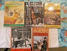 Five Deer Hunting Books.