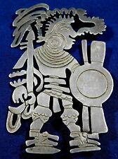 Handmade Vintage Warrior Pin Estate William Spratling Taxco Sterling Cut Out
