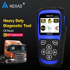 NEXAS NL102P HEAVY DUTY DIESEL TRUCK DIAGNOSTIC SCANNER TOOL CODE READER DPF