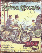 BSA MOTOR CYCLES METAL SIGN 8x10in pub bar shop cafe garage man cave bantam