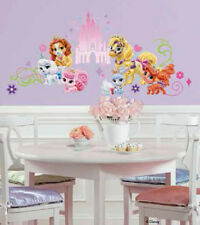 DISNEY PRINCESS PALACE PETS wall stickers 23 decals horse dog cat room decor