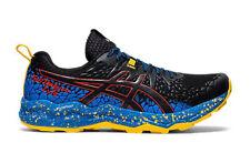 Asics FujiTrabuco Lyte Mens Trail Running Shoes - Black/Directoire Blue