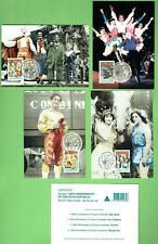 #T62.   150th ANNIVERSARY OF CIRCUS IN AUSTRALIA  POSTCARDS & STAMPS