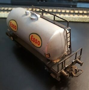 VINTAGE MARKLIN HO Scale RARE #4501 ESSO Tanker Car (4-Wheel, 2-Axles), Germany