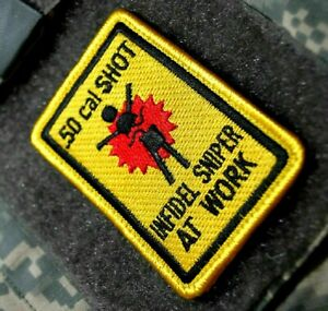 Guerre Sur Terreur Armed Forces Bac à Sable Déploiement Vêlkrö Patch :50-CAL