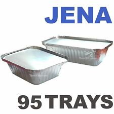 95 Chinese Take-away Tray Containers With Lids Chineese Rice etc 2 Sizes