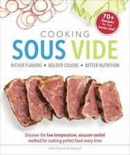 COOKING SOUS VIDE - ENGLAND, THOMAS N. - NEW PAPERBACK BOOK