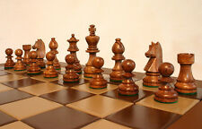 Superb Staunton Wood Chess Pieces, Chessmen, Chess Figures, FAST FREE DELIVERY!