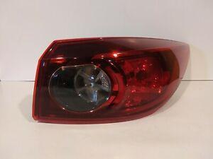 2014-2017 Mazda 3 Sedan Tail light Assembly Halogen right used genuine Oem nice