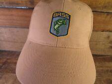 BASS Fishing Fish Adjustable Adult Cap Hat
