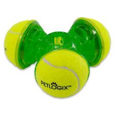 Hyper PetLogix Tennis Throw Trio - Ball Fetch Float Dog Puppy Treat Squeak Toy