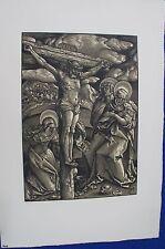 Reich pressione 295 Hans Baldung riconobbero il Cristo Croce Berlino farbholzschnitt