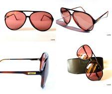 Vintage Persol Sunglasses Ratti 6402 Italy AVIATOR DOUBLE BRIDGE OVERSIZE 62