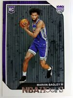 2018 18 Panini NBA Hoops Marvin Bagley III Rookie RC #258, Sacramento Kings