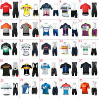 2020 Mens Cycling Jersey&Bib Short Cycling Jersey Short Sleeve Cycling Shorts