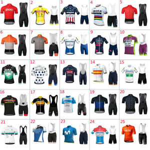2021 Men Cycling and Jersey Bib Short Cycling Jersey Short Sleeve bicycle jersey