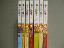 Spice and Wolf Light Novels 11-18 (missing 15) - Good condition