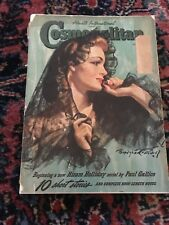 June 1940 Cosmopolitan Magazine Antique Tobacco Cleaning Auto Advertisements