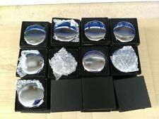 More details for joblot of silver compact mirrors (60 pcs) b grade compacts