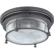 8c4049682a6 Maxim Lighting Hi-Bay 2-Light Flush Mount Bronze - 25000CLBZ