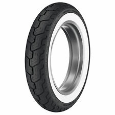 Dunlop Harley-Davidson D402 Rear Motorcycle Tire MU85B-16 (77H) Wide White Wall