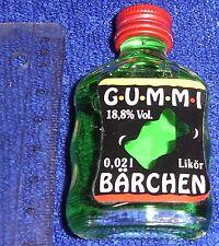 Schnapsfläschchen Gummibärchenlikör 18 % vol  0,02 l Miniflasche ungeöffnet