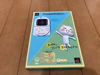 Sony PocketStation PlayStation PS Dokodemo isshlo BOX and Manual Japan ver 2