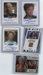 2012 Star Trek Voyager Autograph Mary Elizabth Mcglynn as Daelen