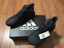Adidas Mens Alphabounce Instinct Running Shoes Carbon/Core Black D96805 Sz 10.5
