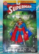 DC DIRECT COLLECTIBLES  SERIES 1 RARE  CYBORG SUPERMAN FIGURE DEATH OF SUPERMAN