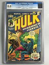 Hulk 182 - CGC 8.0 - 1st app. of Hammer & Anvil - Wolverine Cameo