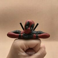 Deadpool Action Figure Marvel Sitting Postures Mini Doll Superhero PVC Toys